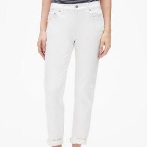 Gap Best Girlfriend White Jeans NWT